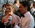 Franziska Weisz and Christian Rainer, ROMY 2010.jpg