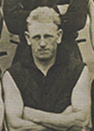 Fred Finch (footballer) - Finch in May 1925