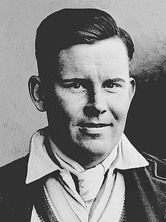 Freddie Brown (cricketer) - Brown c. 1935