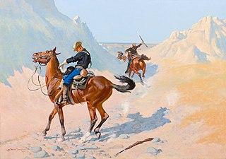 The Advance-Guard, or The Military Sacrifice (The Ambush)