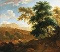 Frederik de Moucheron - A mountain landscape with shepherds.jpg
