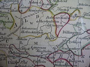 Giengen - Location of the Free Imperial City