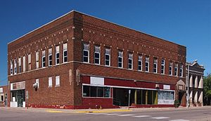 National Register of Historic Places listings in Pope County, Minnesota - Image: Fremad Association Building