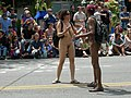 Fremont Solstice Parade 2007 - naked couple 03.jpg