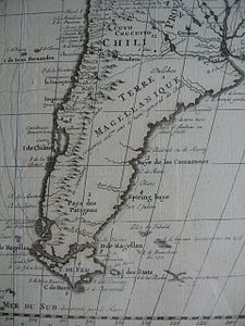 French map of South America, c. 1710.jpg