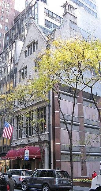 New York Friars Club - Image: Friars club