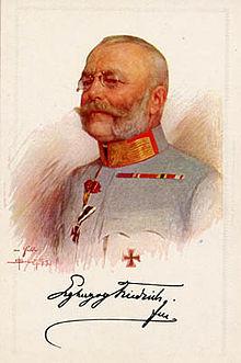 フリードリヒ大公(1914年頃)