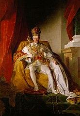 Kaiser Franz I. (II.) (1768-1835) von Österreich im österreichischen Kaiserornat