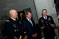 From left, Chief of Staff of the Army Gen. Raymond T. Odierno, National Football League (NFL) Commissioner Roger Goodell and Lt. Gen. David Huntoon, the superintendent of the U.S. Military Academy, talk at 120830-A-AO884-073.jpg