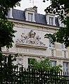 Fronton au dessus de l'entrée du Lycée Montaigne - Vu du Jardin du Luxembourg.JPG