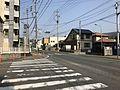 Fukuoka Prefectural Road No.607 near Sasaguri Station.jpg