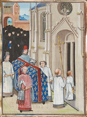 Jean de Vienne (archbishop, died 1351) - Funeral of Philip VI, at which Jean presided