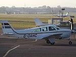 G-OAHC Beech Bonanza F33C Cirrus Aviation Ltd (30622844984).jpg