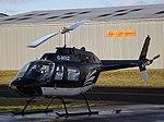 G-WIIZ Bell Jet Ranger 206 Helicopter (31096382155).jpg