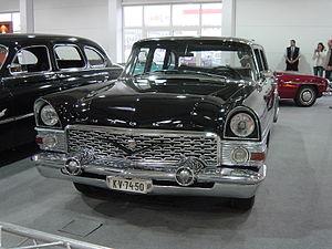 Модель автомобиля ГАЗ-13 чайка 1:24 Hachette/Car model GAZ-13 .
