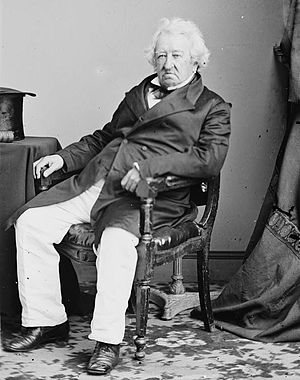 Gulian C. Verplanck - Photograph of Verplanck taken between 1855 and 1865