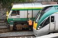 GM Loco 234 and Rotem Intercity Railcar 22 327 at Waterford - Flickr - D464-Darren Hall.jpg