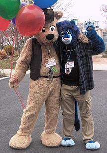 Gr Fursuiters Bj Buttons And Cobalt Balloons Crop Drawing Clothes