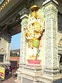 Ganesh Statue at new entrance of Annavaram.jpg