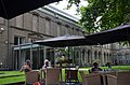 Garden and lunchroom Museum Dordrecht at 1 August 2014. See next shot (left) for entrance details - panoramio.jpg
