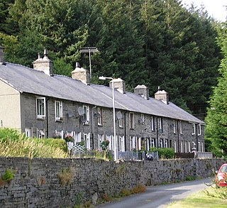 Garneddwen village in the United Kingdom