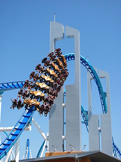 Das Keyhole-Element von GateKeeper in Cedar Point