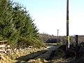 Gated track off B993 - geograph.org.uk - 1116991.jpg