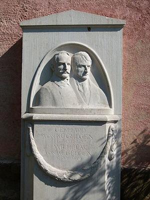 Wilhelm von Kügelgen - Memorial stone for Wilhelm von Kügelgen and his father Gerhard in Loschwitz Cemetery