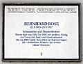 Gedenktafel Badstr 58 (Gesu) Bernhard Rose.jpg