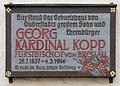 Gedenktafel Steinstr 34 (Duderstadt) Georg von Kopp.jpg