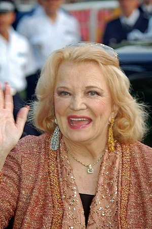Gena Rowlands - Rowlands at the 2006 Cannes Film Festival
