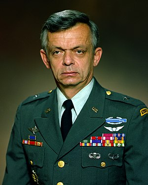 Gary E. Luck - General Gary E. Luck (as a Brigadier General)