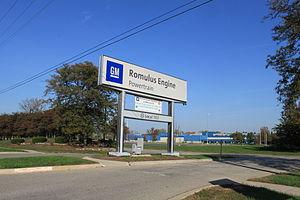 Romulus Engine - Romulus Engine plant entrance