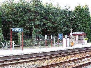Bokrijk railway station railway station in Belgium