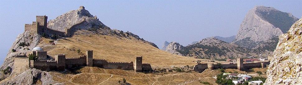 Genoese fortress in Sudak