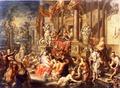 Genrebild. Oljemålning på koppar - Skoklosters slott - 73601.tif