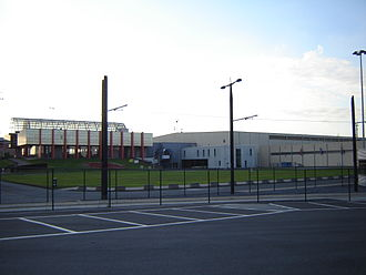 Flanders Expo - Entrance and halls (2008)