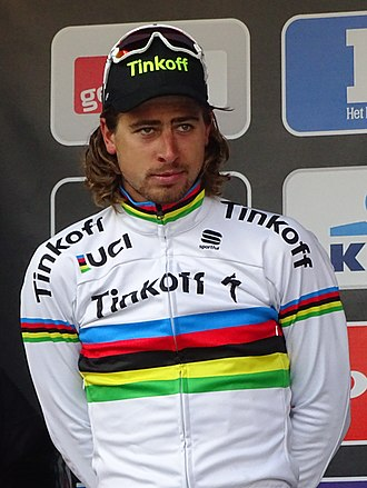 Peter Sagan - Sagan at the 2016 Omloop Het Nieuwsblad