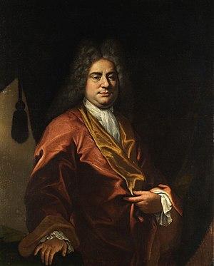Giovanni Camillo Sagrestani - A Gentleman, by Giovanni Camillo Sagrestani.