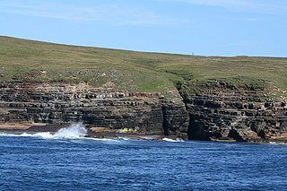 Island of Stroma Island off the coast of Scotland