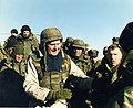 George H.W. Bush Visiting Quantico, January 1997 (46109970122).jpg