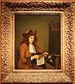 Gerard ter borch, giovane che legge una lettera, 1680 ca.jpg