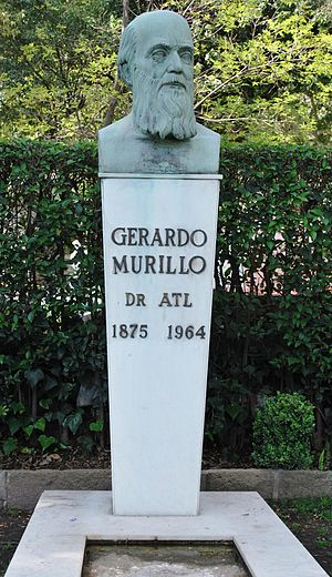 Dr. Atl - Tomb of Gerardo Murillo at the Panteon Civil de Dolores cemetery in Mexico City