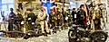 German, Norwegian, French, British WW2 uniforms-weapons-equipment, NSU bike, etc. Lofoten Krigminnemuseum, Norway (War Memorial Museum) Panorama 2019-05-08 DSC09860.jpg