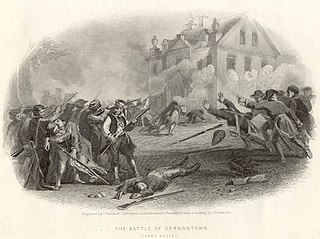 Battle of Germantown October 1777 battle during the American Revolutionary War