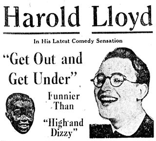<i>Get Out and Get Under</i> 1920 film by Hal Roach