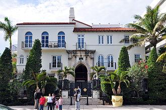 Gianni Versace - Versace's Miami Beach mansion in 2009