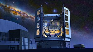 Segmented mirror - European Extremely Large Telescope