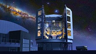 Segmented mirror - European Extremely Large Telescope