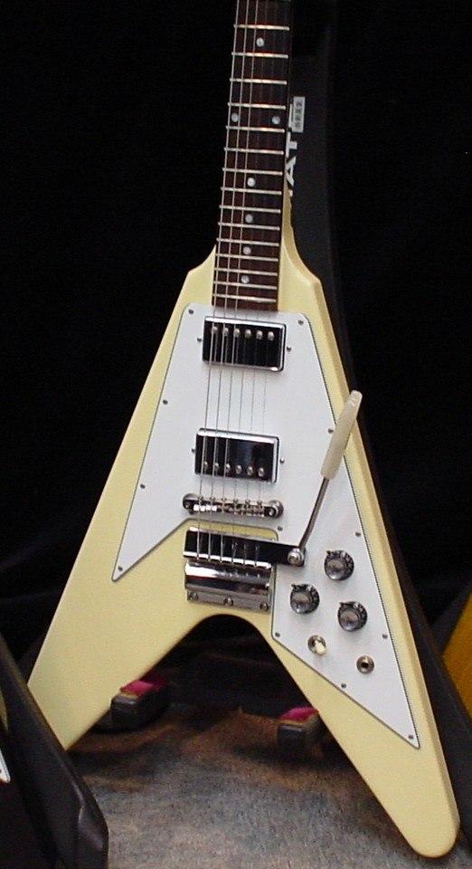 Gibson Flying V White